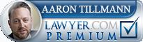 Aaron R. Tillmann  Lawyer Badge