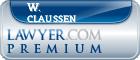 W. Kim Claussen  Lawyer Badge