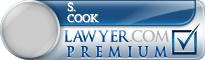 S. Matthew Cook  Lawyer Badge