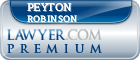 Peyton H Robinson  Lawyer Badge