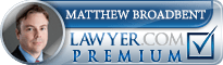 Matthew K Broadbent  Lawyer Badge