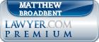 Matthew K Broadbent  Lawyer Badge