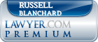 Russell Allen Blanchard  Lawyer Badge