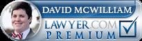 David James McWilliam  Lawyer Badge