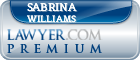 Sabrina Lynette Williams  Lawyer Badge