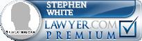 Stephen Craig White  Lawyer Badge