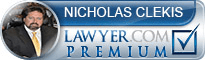 Nicholas J. Clekis  Lawyer Badge