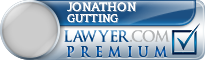 Jonathon Abraham Gutting  Lawyer Badge