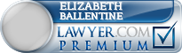 Elizabeth Wells Ballentine  Lawyer Badge