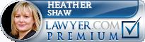 Heather S. Shaw  Lawyer Badge