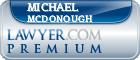 Michael Patrick McDonough  Lawyer Badge