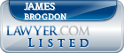James Brogdon Lawyer Badge