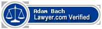 Adam Crittenden Bach  Lawyer Badge