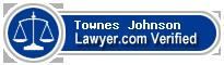 Townes Boyd Johnson  Lawyer Badge