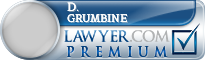 D. Allen Grumbine  Lawyer Badge