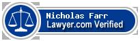 Nicholas Andrew Farr  Lawyer Badge