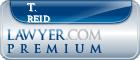 T. Hunt Reid  Lawyer Badge