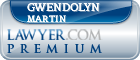 Gwendolyn G. Martin  Lawyer Badge