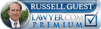 Russell Guest  Lawyer Badge