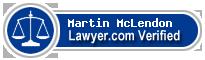 Martin Lee McLendon  Lawyer Badge