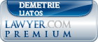Demetrie John Liatos  Lawyer Badge