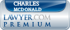 Charles E. McDonald  Lawyer Badge