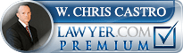 W. Chris Castro  Lawyer Badge