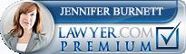 Jennifer Spragins Burnett  Lawyer Badge
