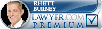 Rhett D. Burney  Lawyer Badge