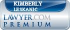 Kimberly Lewis Leskanic  Lawyer Badge