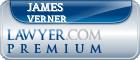 James Spencer Verner  Lawyer Badge