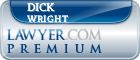 Dick Wright  Lawyer Badge