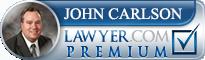 John Joseph Carlson  Lawyer Badge