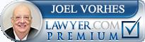 Joel Anton Vorhes  Lawyer Badge