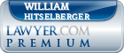 William Garth Hitselberger  Lawyer Badge