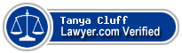 Tanya Cluff  Lawyer Badge