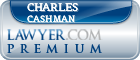Charles E. Cashman  Lawyer Badge