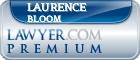 Laurence J. Bloom  Lawyer Badge