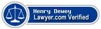 Henry B. Dewey  Lawyer Badge