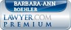 Barbara-Ann Boehler  Lawyer Badge
