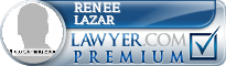 Renee Lazar  Lawyer Badge
