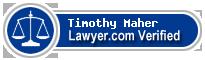 Timothy M. Maher  Lawyer Badge
