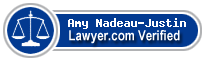 Amy L. Nadeau-Justin  Lawyer Badge