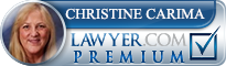Christine E. Carima  Lawyer Badge