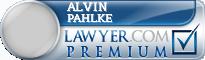 Alvin R. Pahlke  Lawyer Badge