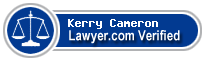 Kerry M. Cameron  Lawyer Badge