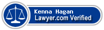 Kenna J. Hagan  Lawyer Badge