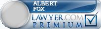 Albert Steven Fox  Lawyer Badge