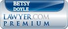Betsy Doyle  Lawyer Badge
