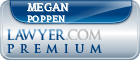 Megan Poppen  Lawyer Badge